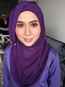 siti_norzainiza_zandra_beauty_muslimah_talent_modal_produk_makeup_wanita_pengantin