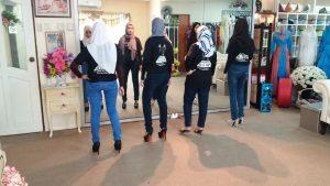 modelling class muslimah
