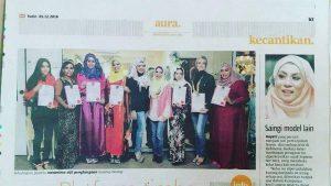clasa catwalk modelling muslimah